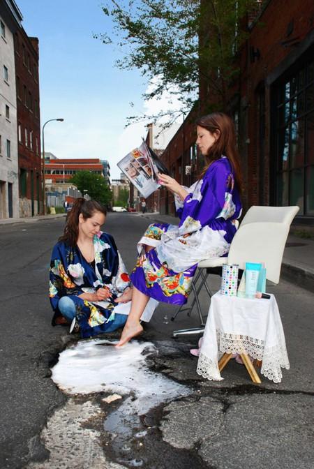Дэвид Лусиано и Клаудиа Фикка. Что делает художник, когда ему надоедают дорожные ямы? Серию картин! — фото 13