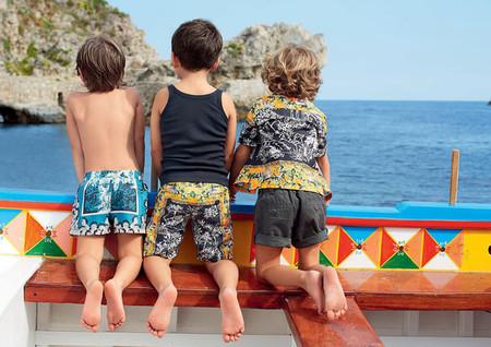 Самым любимым – детская коллекция Dolce&Gabbana весна-лето 2013 — фото 6