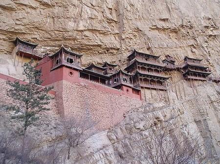 Экстремальный … монастырь – храм горы Хэншань в Китае — фото 5