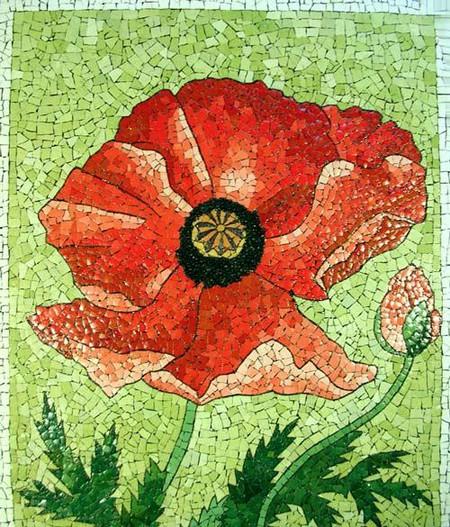 Мозаика из яичной скорлупы Любови Мешакиной — фото 10