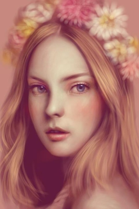 Сенсорные портреты – рисунки Сейко Ямаока на экранах iPod Touch и iPad — фото 9