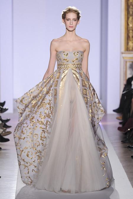 Весенняя коллекция 2013 роскошных платьев Zuhair Murad — фото 16