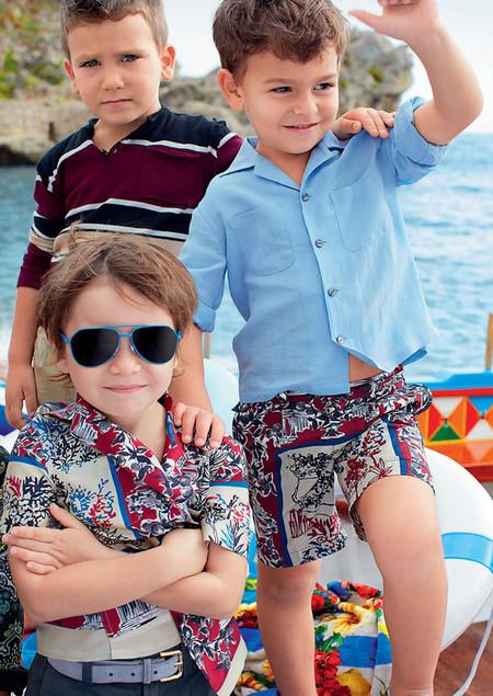 Самым любимым – детская коллекция Dolce&Gabbana весна-лето 2013 — фото 17