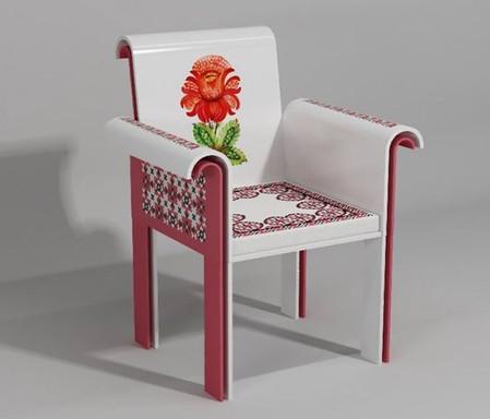 Вышивка по камню – мебель Ярослава Галанта — фото 13