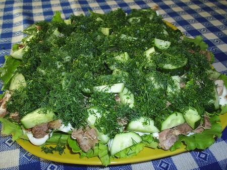 Наш любимый большой семейный салат — фото 8