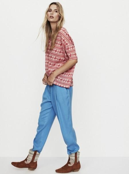 Коллекция Nanushka весна-лето 2013 – мода для горожанок-кочевниц — фото 10