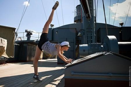 Балет на крейсере Аврора — красиво ...