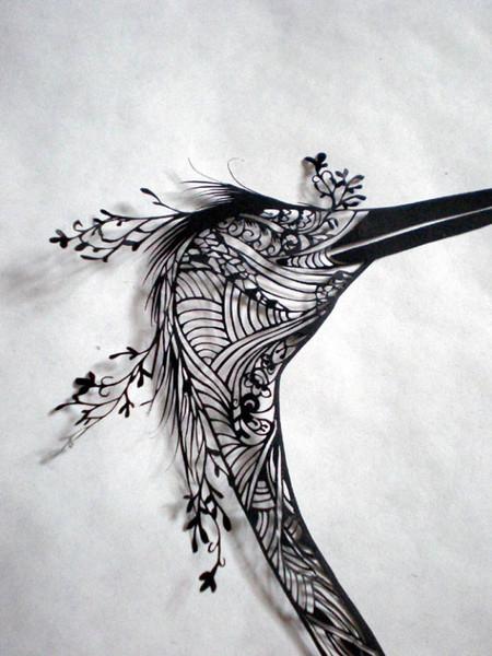 Кружева из бумаги – ювелирные работы Хины Аоямы — фото 38