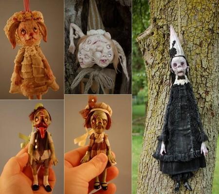 Зомби, монстры, вампиры и прочие куклы Камиллы Млынарчик — фото 27
