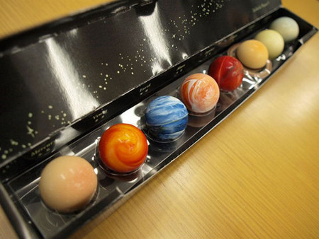 И снова конфеты-планеты. Шоколадный планетарий от L'éclat — фото 18