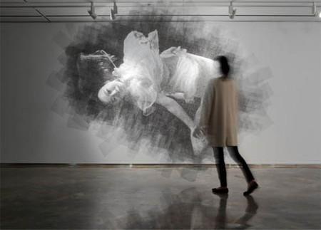 Скульптор, работающий с проволочной сеткой – Сон Мо Парк — фото 12
