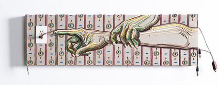 Яркие картины из кабелей от Федерико Урибе — фото 21