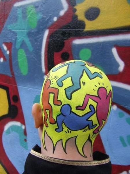 Как креативно скрыть лысину – идеи Филиппа Левайна — фото 23