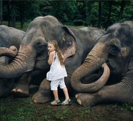 Фотопроект Amelia's world – животные в мире одной девочки — фото 16