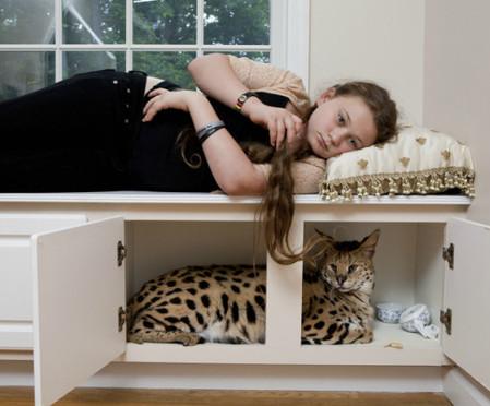 Фотопроект Amelia's world – животные в мире одной девочки — фото 13