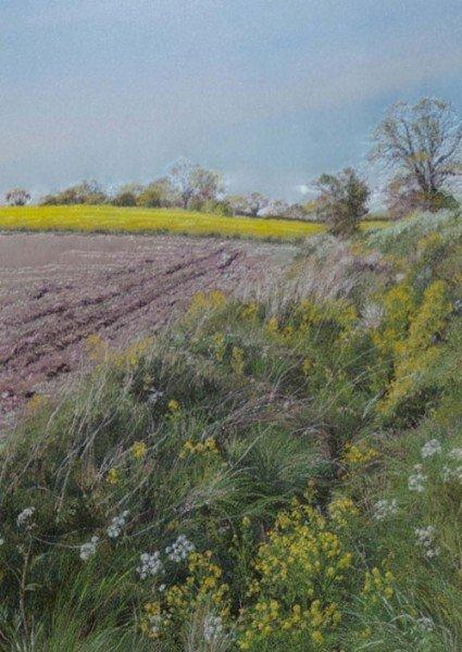 Вышитые пейзажи Джилл Дрэпер (Jill Draper) — фото 9