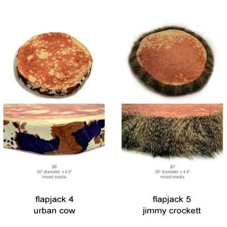 Оладьи … на полу. Оригинальные подушки Pancake Floor Pillows — фото 10