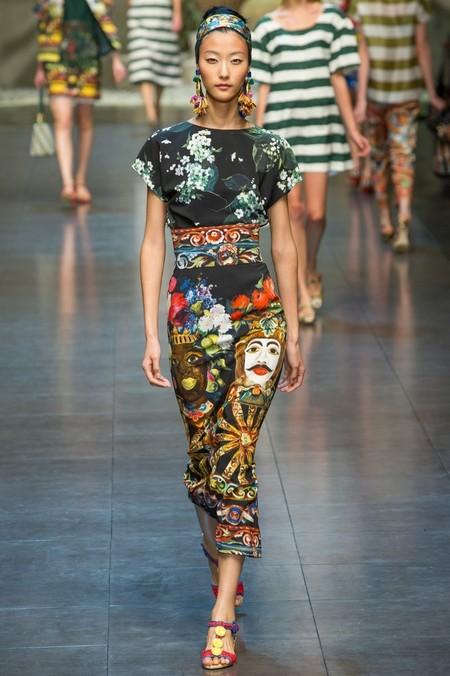 Сицилия от Dolce & Gabbana - женская коллекция весна-лето 2013 — фото 26