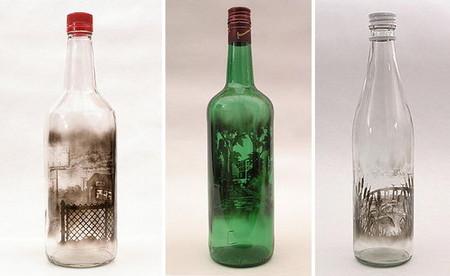 Дымный мир внутри бутылки – работы Джима Динджилиана — фото 7