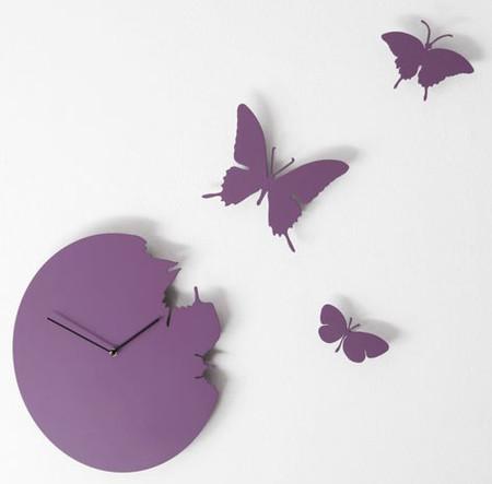 Что общего у времени и бабочек? Разгадка – в часах Butterfly clock — фото 5