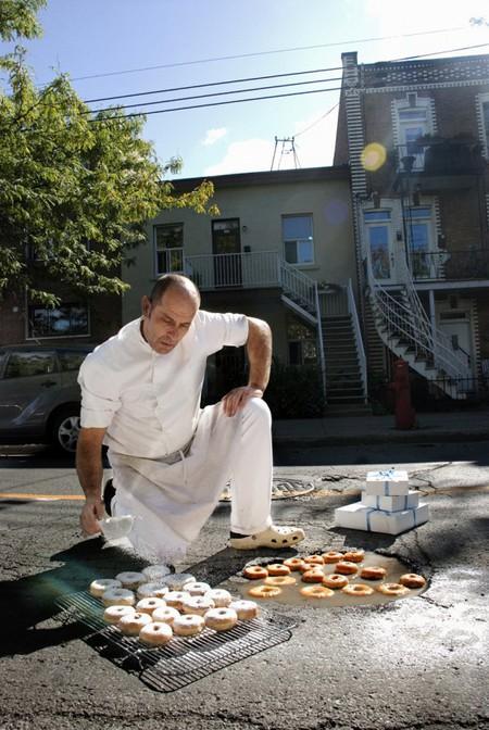 Дэвид Лусиано и Клаудиа Фикка. Что делает художник, когда ему надоедают дорожные ямы? Серию картин! — фото 8