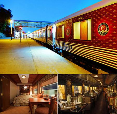 Пятизвездочный экскурсионный поезд прокатит вас по Индии, как настоящего махараджу!