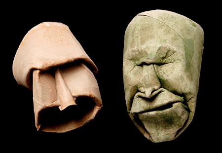 Выразительная мимика и пластика картона. Работы Джуниора Фрица Жака — фото 9