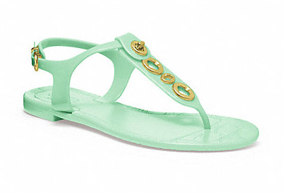 Коллекция обуви от Coach весна-лето 2013 – каблуки, платформа, мокасины, сандалии! — фото 34