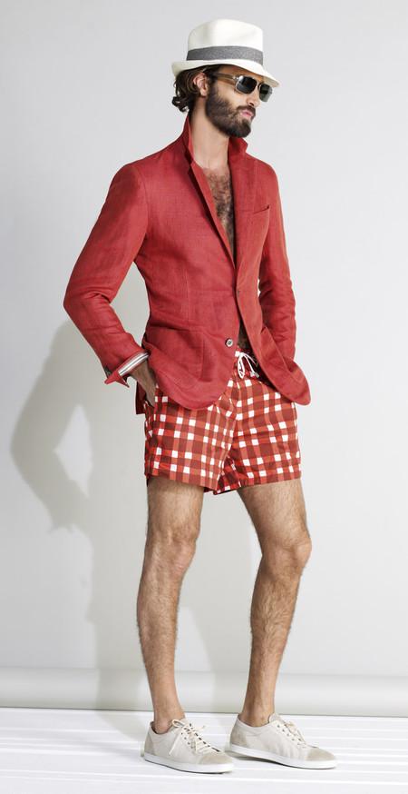 Немного цвета для мужчин – коллекция Brioni сезона весна-лето 2013 — фото 26