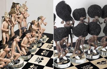Черные и белые человечки — симпатичные очень)