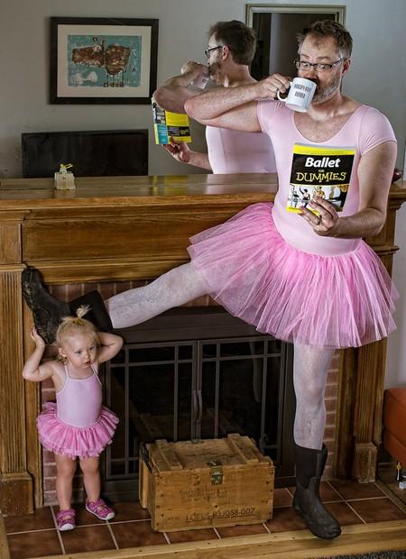 Папа и дочь – истории в картинках. Фото Дэйва Энглдау — фото 45