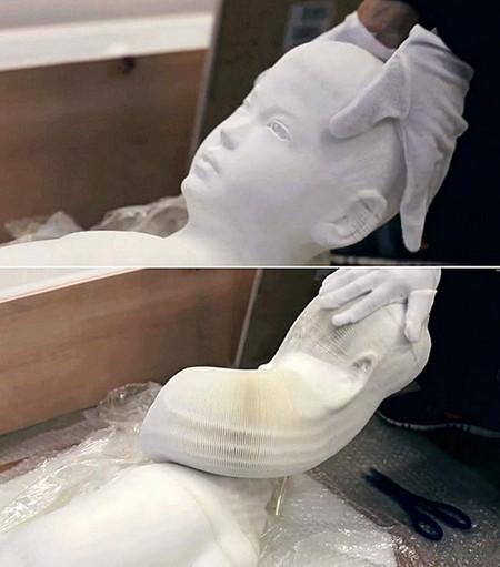 Гибкие скульптуры от Li Hongbo — фото 17