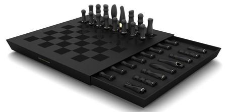 Эро-шахматы – пардон, но это набор вибраторов разного калибра. Занимательный наборчик)))