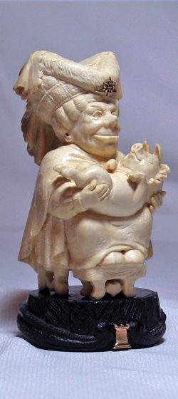 … и Герцогиня с перченым младенцем на руках