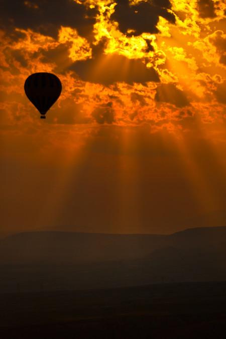 Апельсиновое небо, оранжевый закат – фотографии Суха Дербент (Süha Derbent) — фото 1