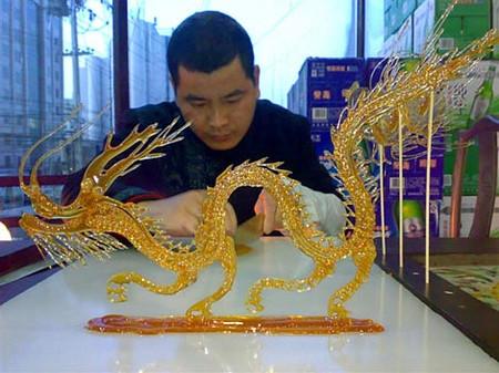 Карамельные рисунки – китайское искусство «танхуа» — фото 14