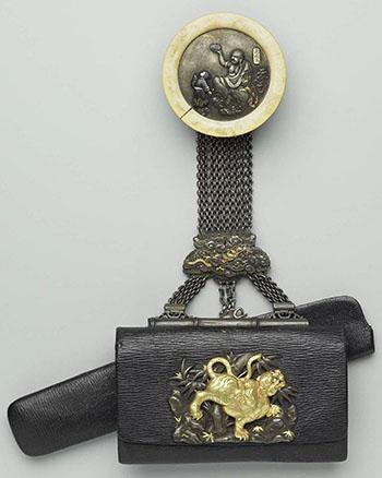 Сагемоно-инро – японский карман. Почему в настоящем нэцкэ должно быть две дырочки? — фото 23