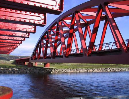 Мост в Rail Garden, Шотландия