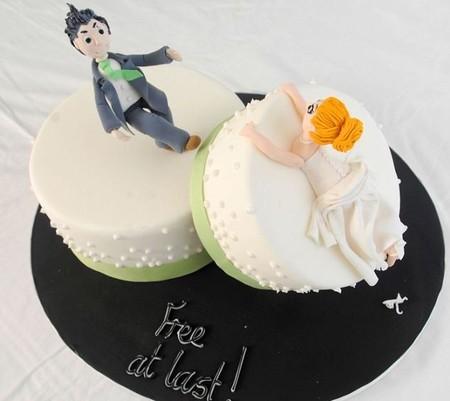Отпразднуем … развод? Антисвадебные торты от Фэй Миллар — фото 10