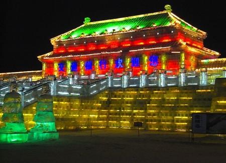 Фестиваль Ледяных дворцов в китайском Харбине – зимняя сказка — фото 19