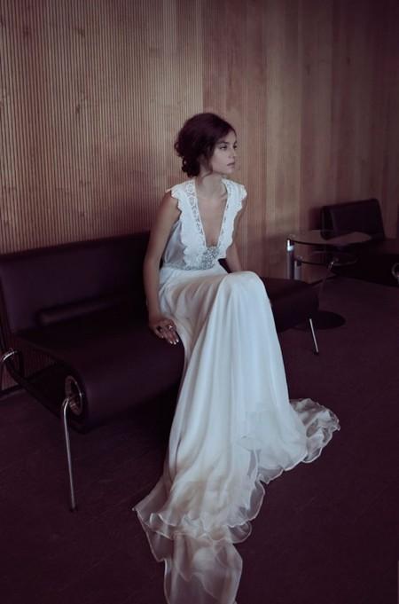 Свадебная коллекция Zahavit Tshuba – если хочется нежное и необычное платье — фото 31