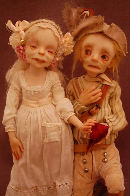 Зомби, монстры, вампиры и прочие куклы Камиллы Млынарчик — фото 34
