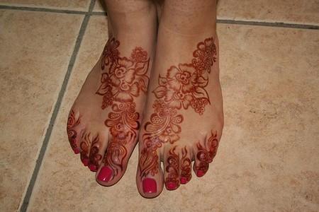 Менди – украшение не только для индийских принцесс — фото 60