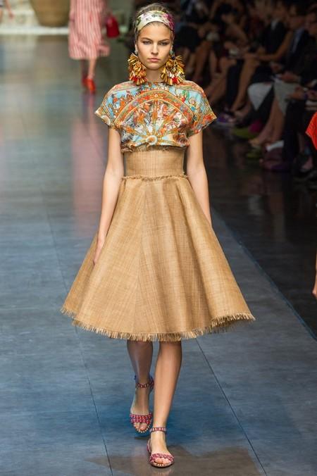 Сицилия от Dolce & Gabbana - женская коллекция весна-лето 2013 — фото 20
