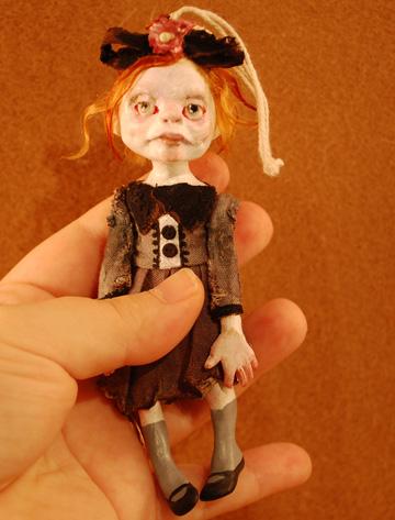 Зомби, монстры, вампиры и прочие куклы Камиллы Млынарчик — фото 3