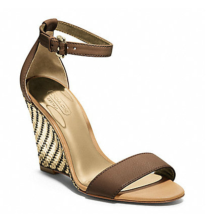 Коллекция обуви от Coach весна-лето 2013 – каблуки, платформа, мокасины, сандалии! — фото 26