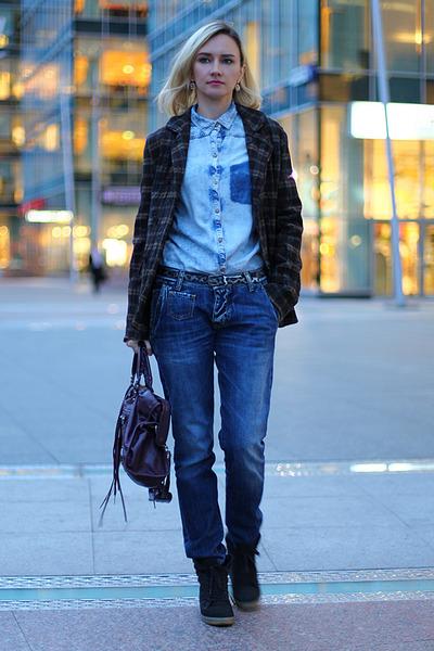 Ода джинсовой рубашке – сочиняем образы — фото 15