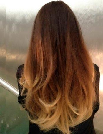 Модное окрашивание – эффект выгоревших на солнце волос — фото 18