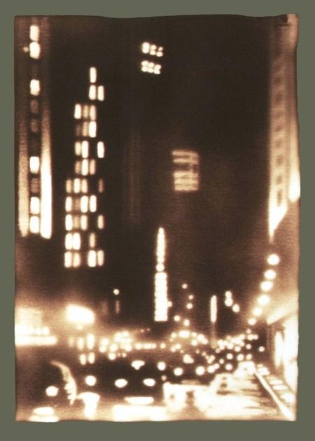 Ночной город — одна из любимых тем Пола
