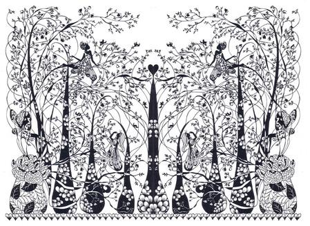 Кружева из бумаги – ювелирные работы Хины Аоямы — фото 6